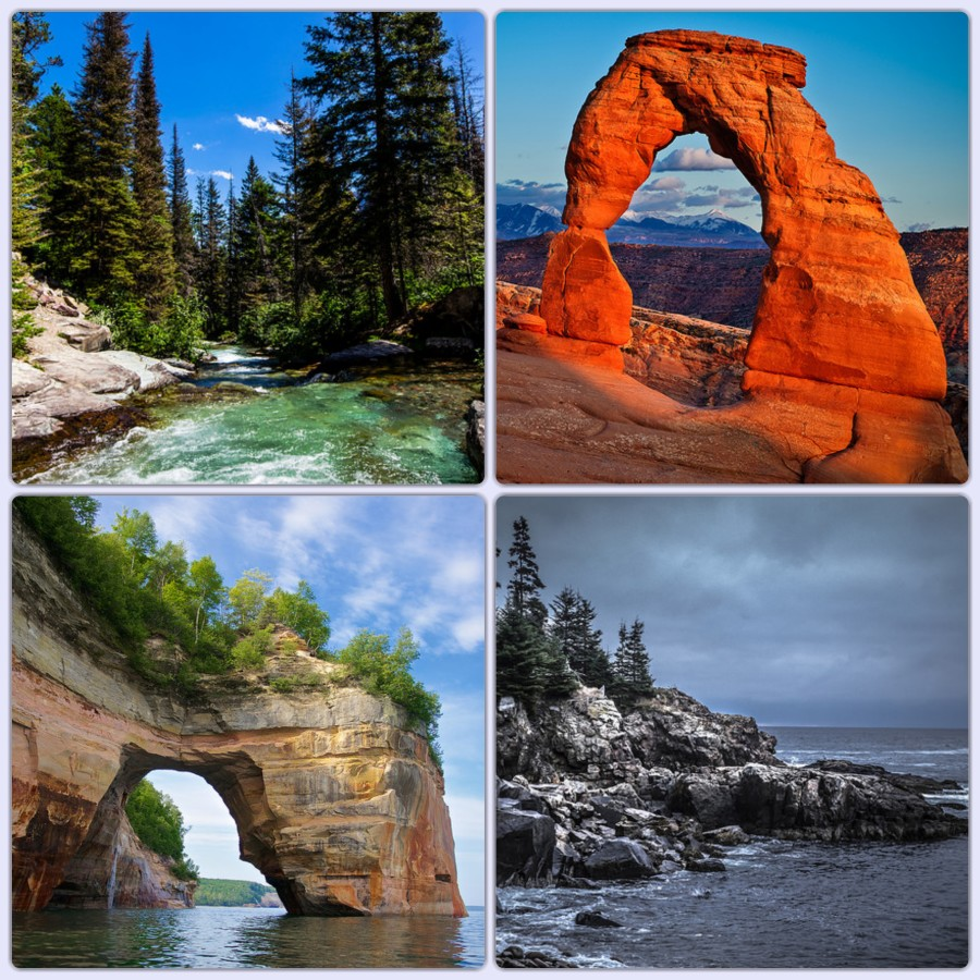 Acadia National Park_Fotor_Collage
