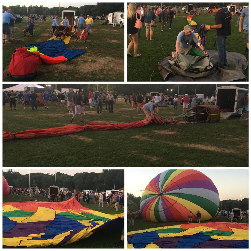 Balloon set up