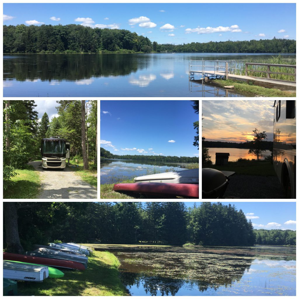 Promised Land State Park Collage