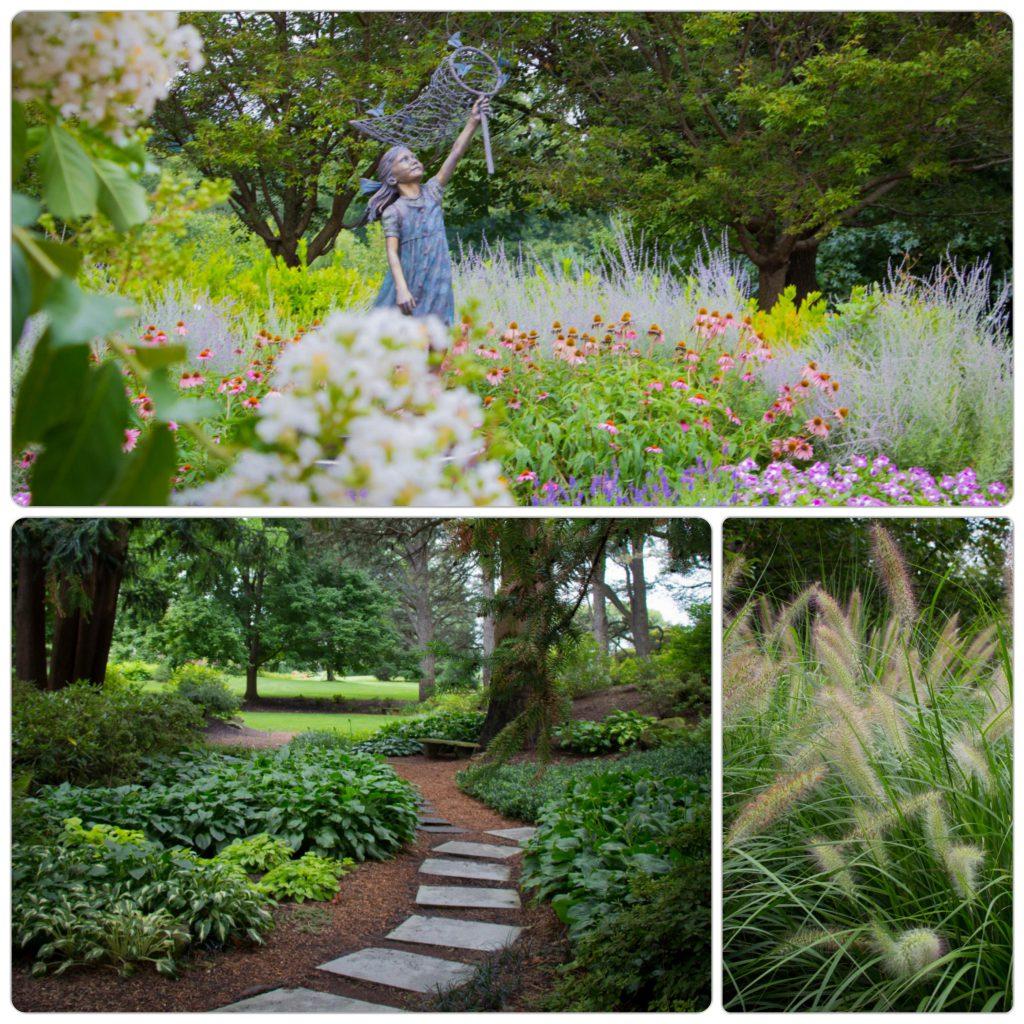 gardens collage
