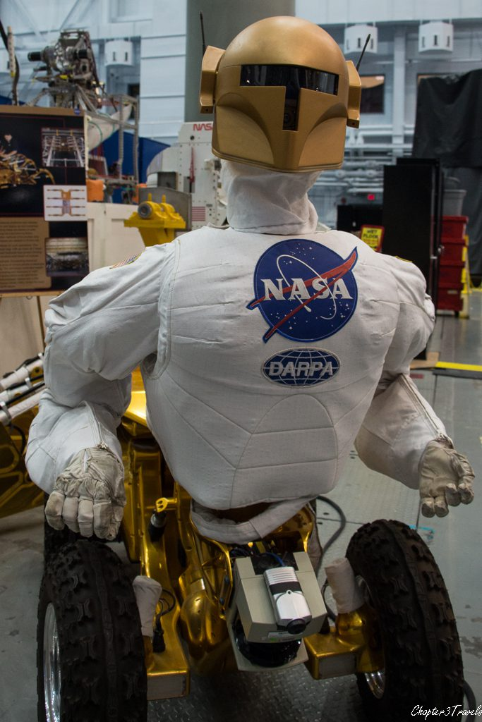 Centaur-like Robonaut model