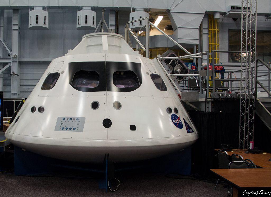 Orion capsule mockup