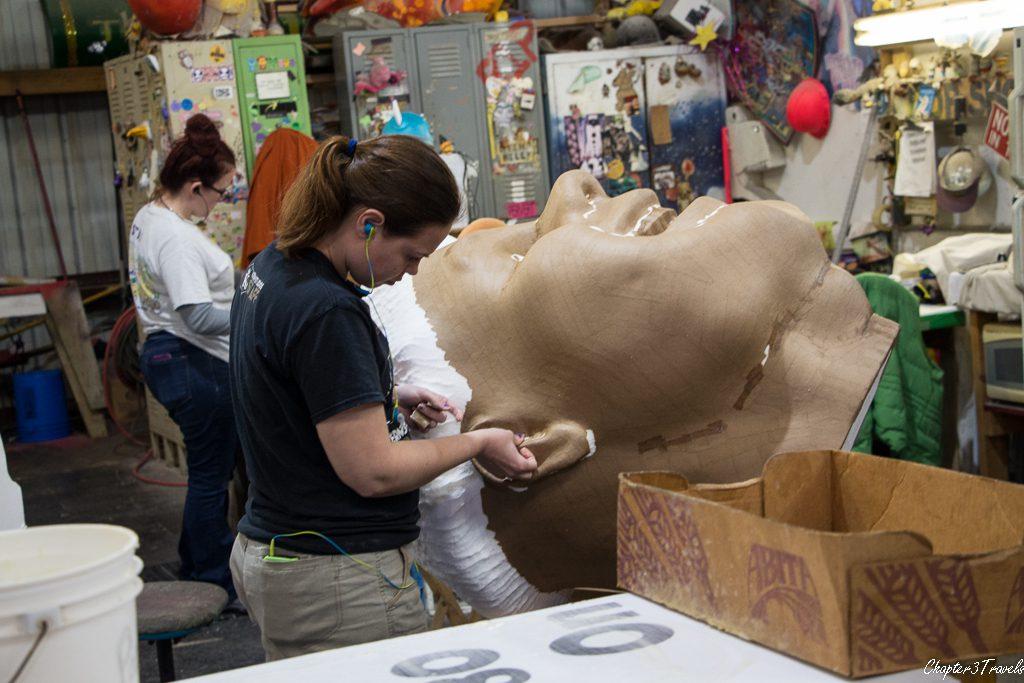 Paper mache artists