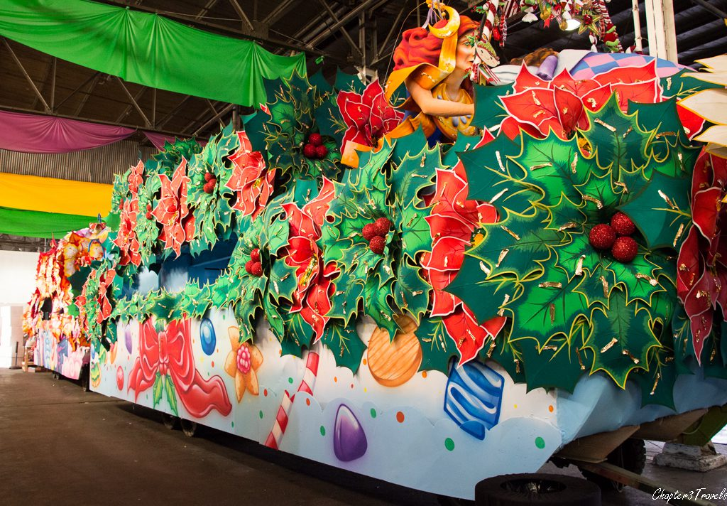 Float for Mardi Gras