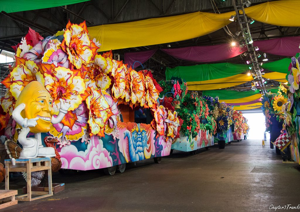 Floats for Mardi Gras
