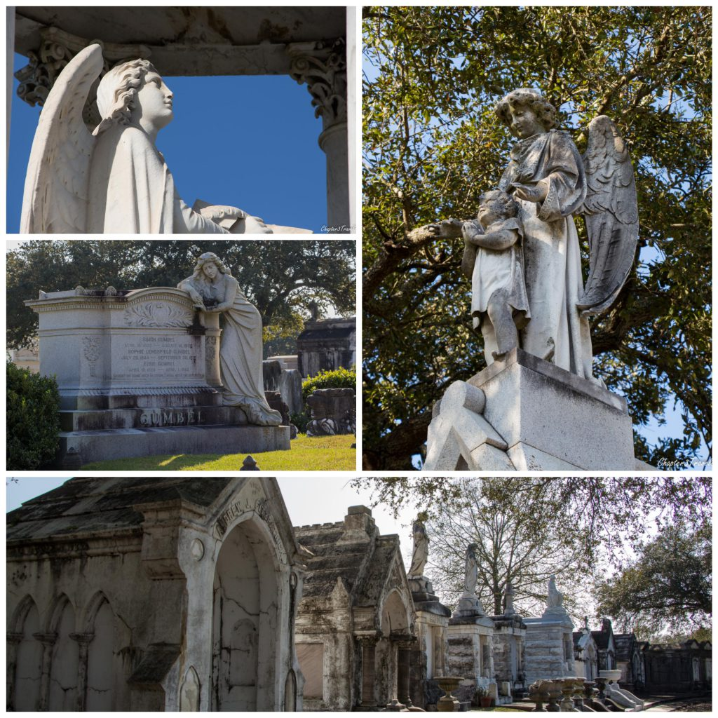 metairie-statues