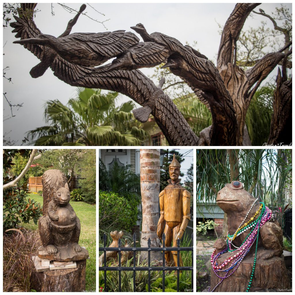 galveston-tree-sculptures collage