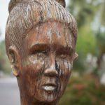 Tree sculpture in Galveston, Texas