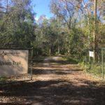 Walking path at Compass RV Park.