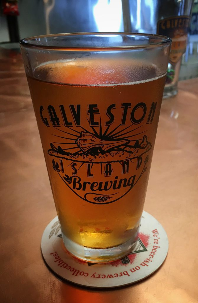 Beer at Galveston Island Brewing