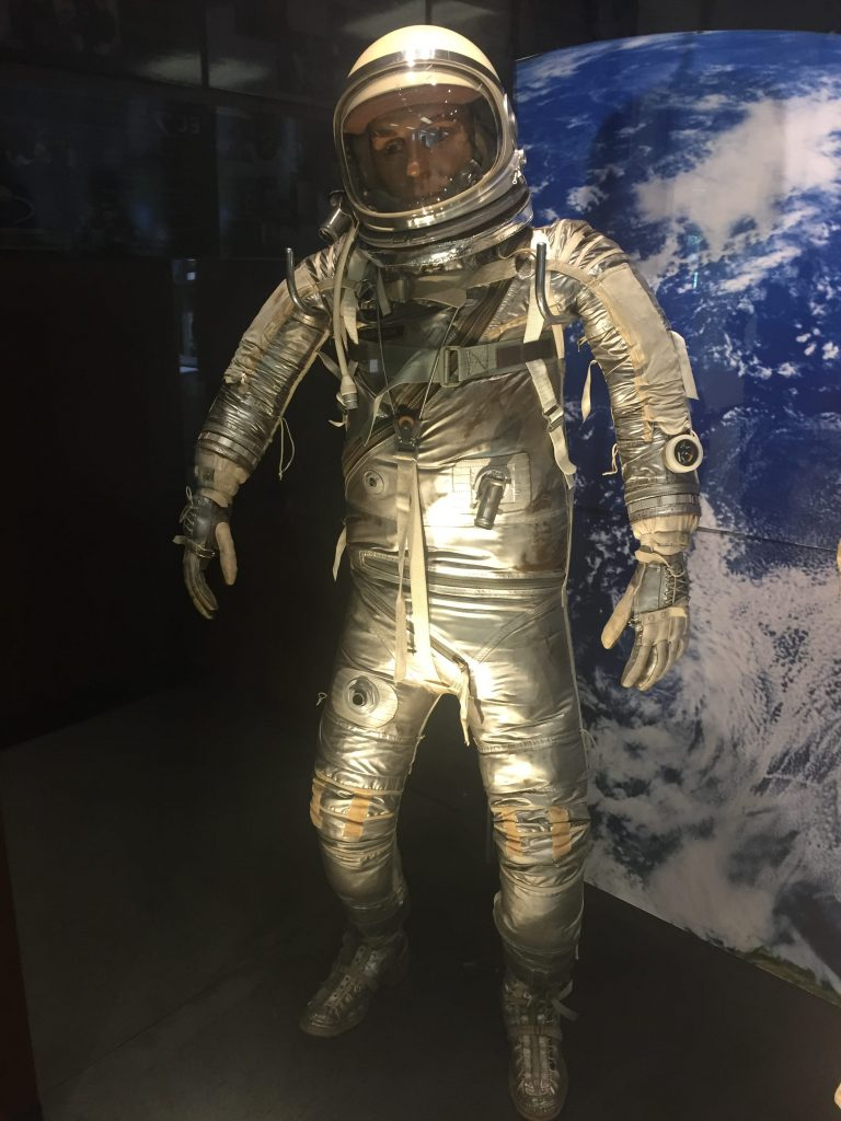 A Mercury era spacesuit