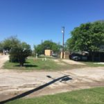 Dirt roads at Riverwalk RV Park in San Antonio, Texas