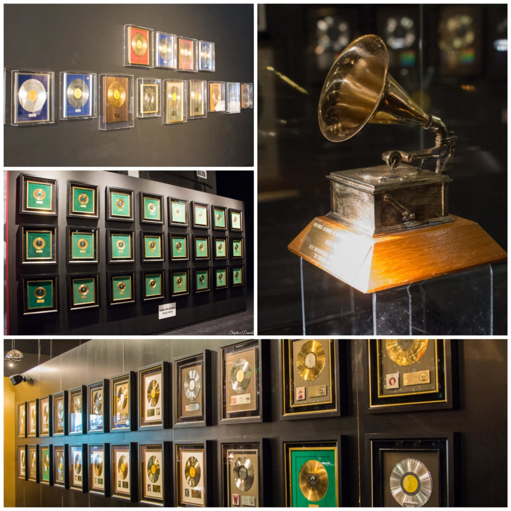 Gold records and Grammy Award