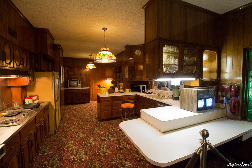 The kitchen at Graceland