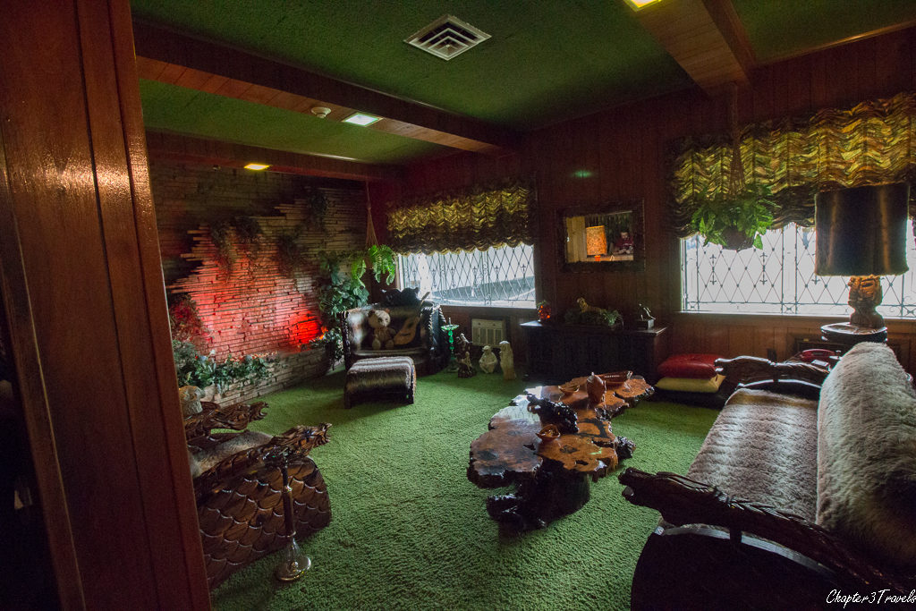 The jungle room at Graceland