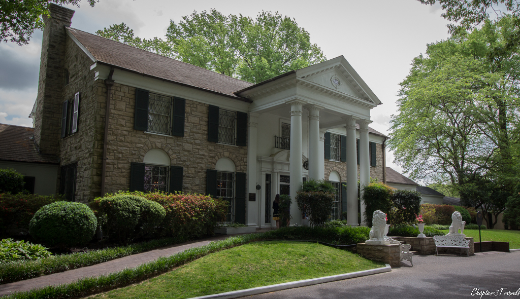 Graceland Mansion in Memphis, Tennessee