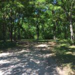 Campsite at McKinney Falls.