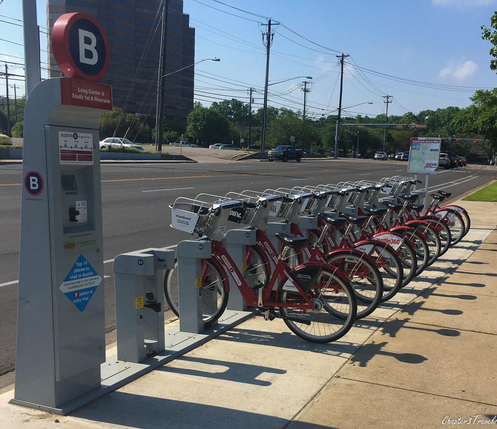 Austin B-Cycle Kiosk