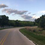 Interior road at Cedar Hill State Park