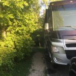 Cedar Hill State Park campground site