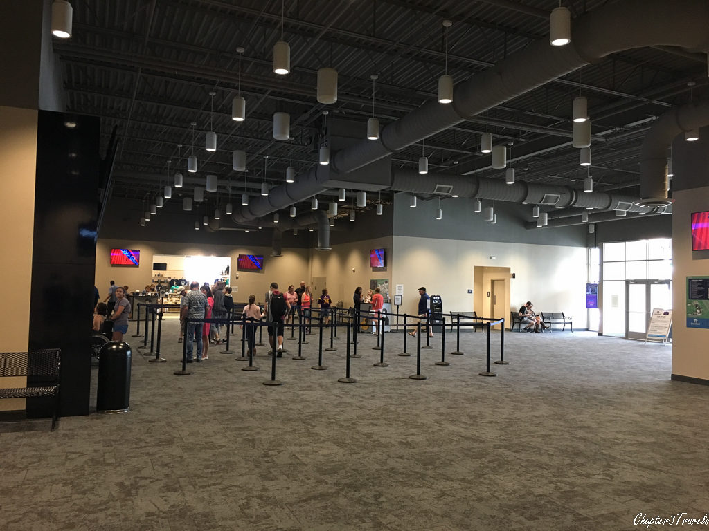 The ticketing area at Graceland