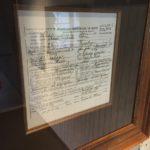 Elvis's birth certificate