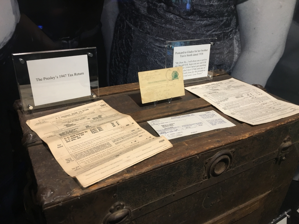 Presley family tax returns