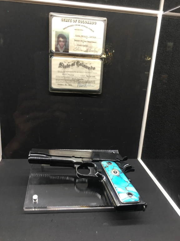 Gun and license