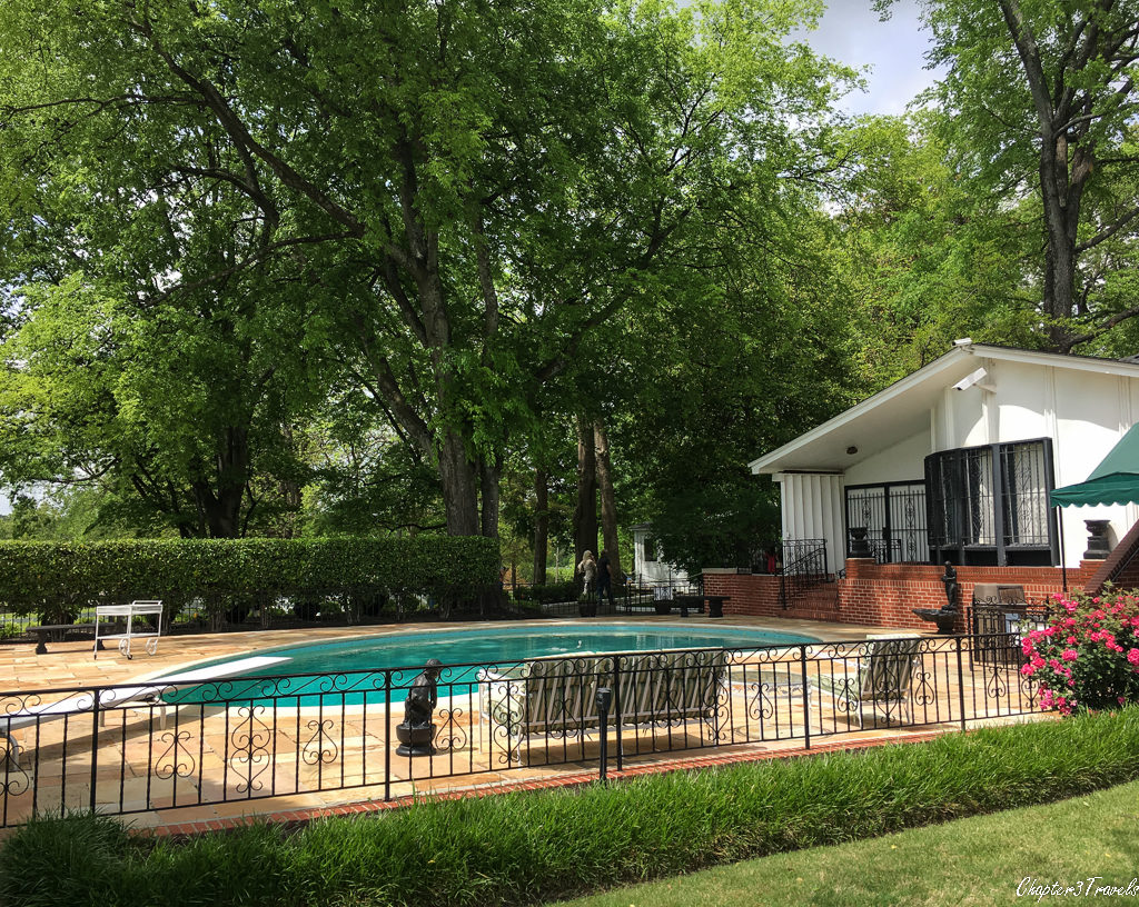Swimming pool at Graceland