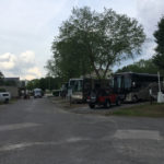 RVs at Graceland RV Park