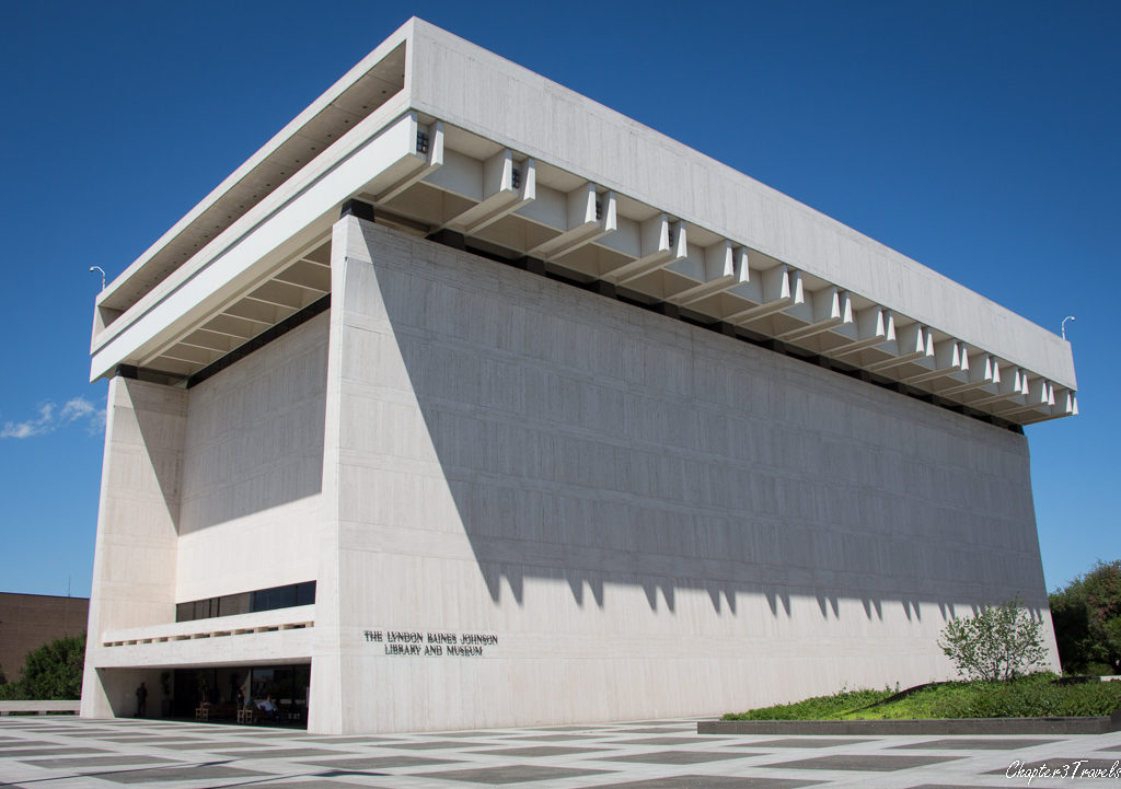 The Lyndon Johnson Presidential Library in Austin, Texas