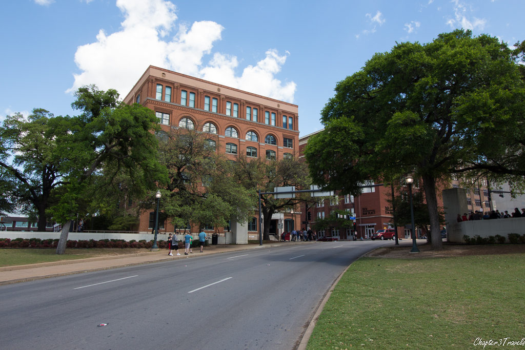 The Texas School Book Depository building