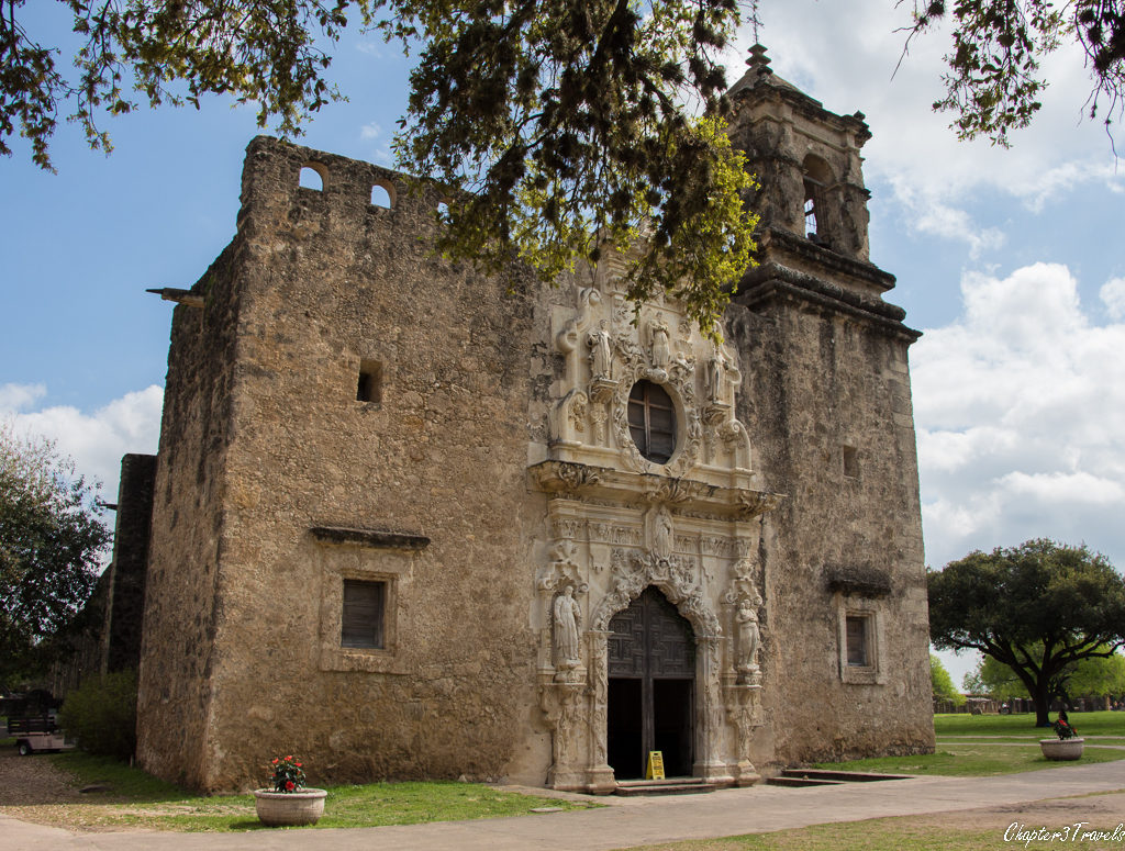 Front of Mission San Jose