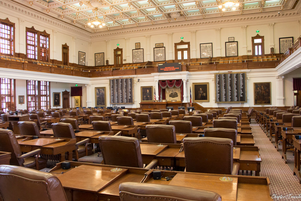 The House of Representatives in Texas