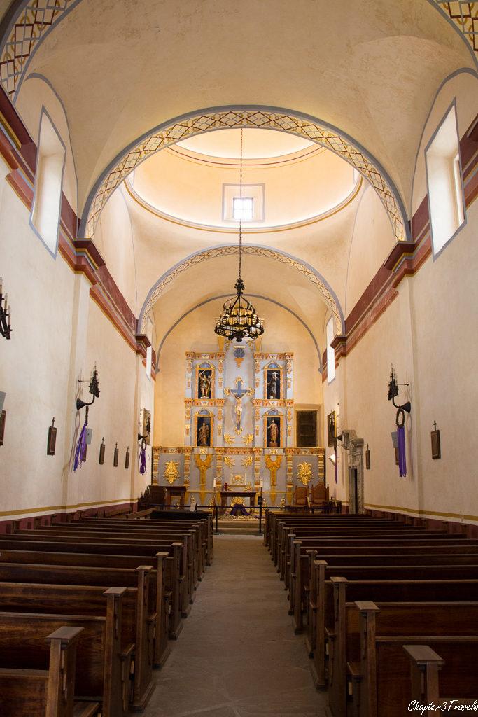 Interior of Mission San Jose Church