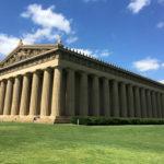 Full scale replica of the Parthenon located in Nashville, TN