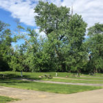 Campsites at Elkhorn Campground in Lexington, Kentucky