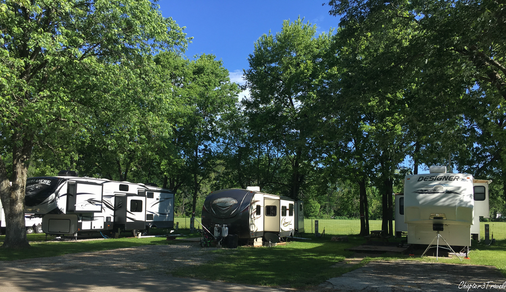 Campsites at Elkhorn Campground