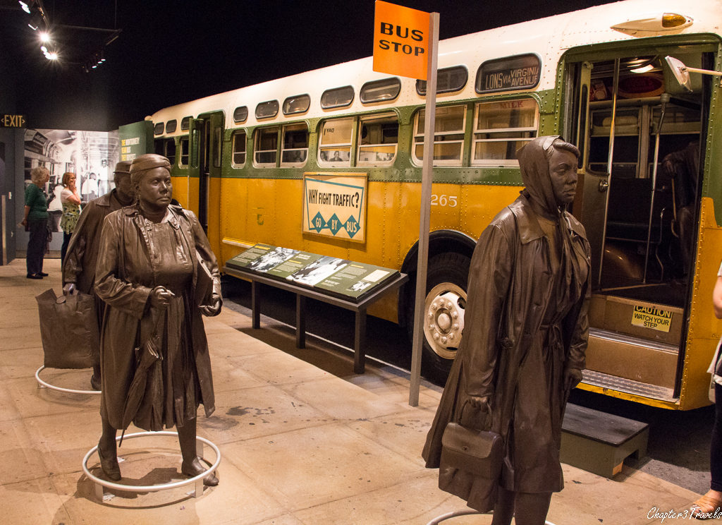 Exhibit on Montgomery Bus boycott