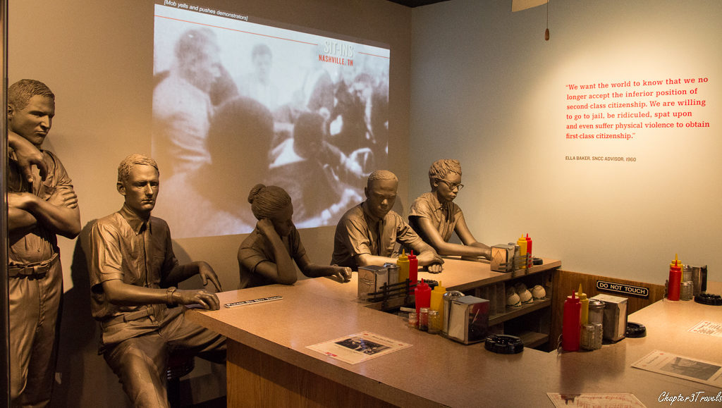 Exhibit on lunch counter protests