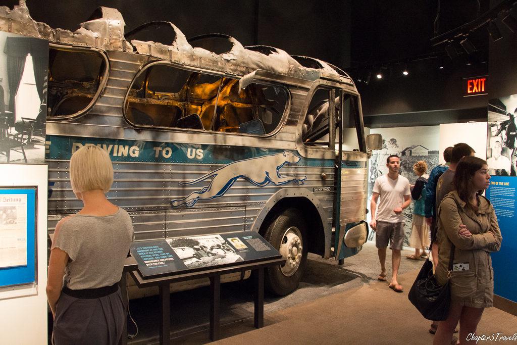 Exhibit on Freedom Rides