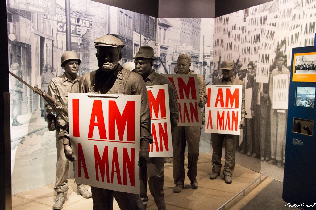 Exhibit on sanitation workers strike