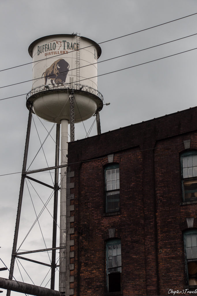Buffalo Trace water tower and building