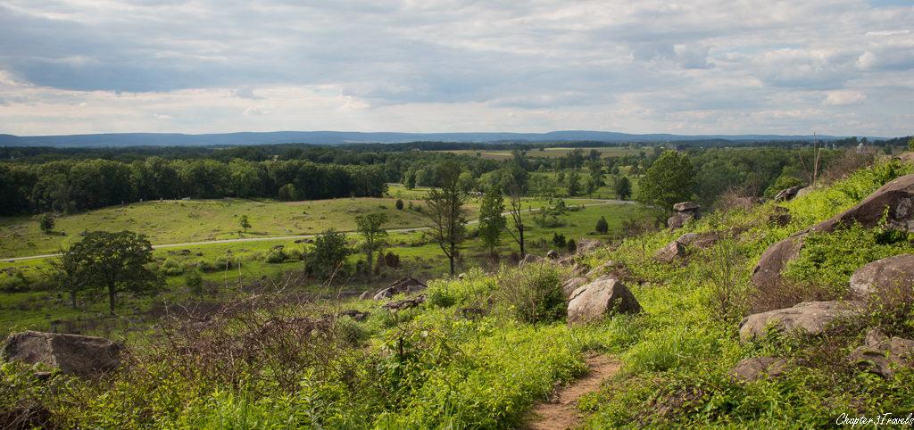 Countryside in Gettysburg, Pennsylvania