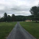 Roadway in Natural Chimneys Park, Augusta County, Virginia