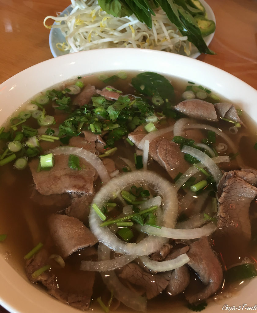 Bowl of Vietnamese pho