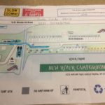 Campground map for New River Campground in Gauley Bridge, WV