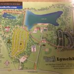 Campground map for Thousand Trails Campground in Lynchburg, Virginia