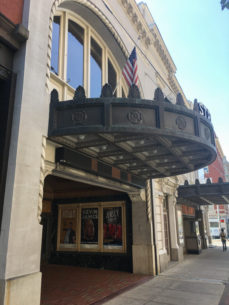 Old theater in York, Pennsylvania
