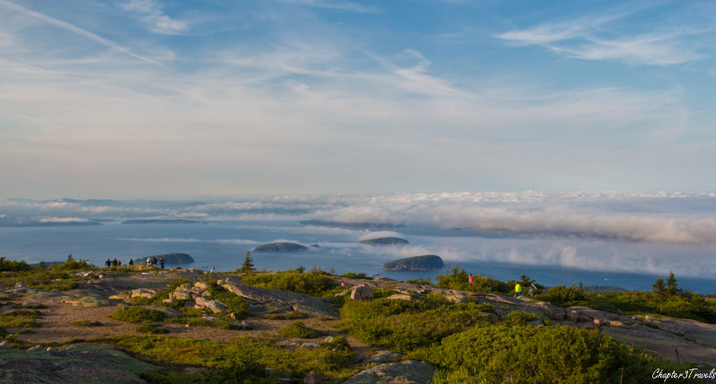Sunset from Cadillac Mountain, Acadia National Park